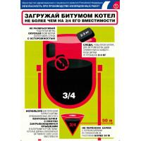Безопасность при проведении изоляционных работ (Комплект из 3-х плакатов)