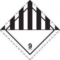 Знак опасности Класс 9. Прочие опасные вещества и изделия