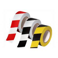 Лента оградительная красно-белая/желто-черная ЛО