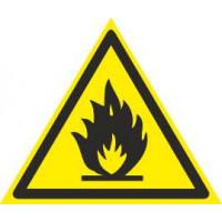W01 Пожароопасно!Легковоспламеняющиеся вещества