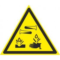 W04 Опасно! Едкие корризиционные вещества