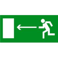E04 Направление к эвакуационному выходу налево