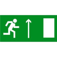 Е11 Направление к эвакуационному выходу прямо (правосторонний)