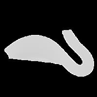 Бумага для квиллинга однотонная цв.белый
