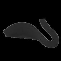 Бумага для киллинга однотонная цв.черный