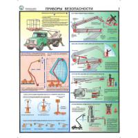 Безопасность работ с автоподъемником (Комплект из 3-х плакатов)