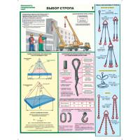 Безопасность грузоподъемных работ (комплект из 5 плакатов)