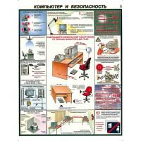 Компьютер и безопасность (Комплект из 2-х плакатов)