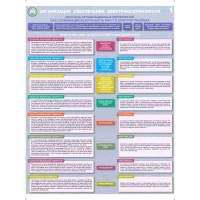 Организация обеспечения электробезопасности (Комплект из 3-х плакатов)