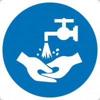 Знак Мойте руки